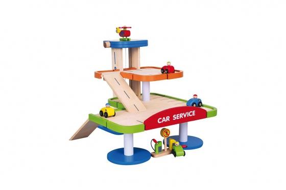 Parkhaus Holz - Lift