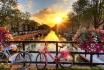 Amsterdam Kurztrip-Grachten, Stars und Bier für 2 Personen 1