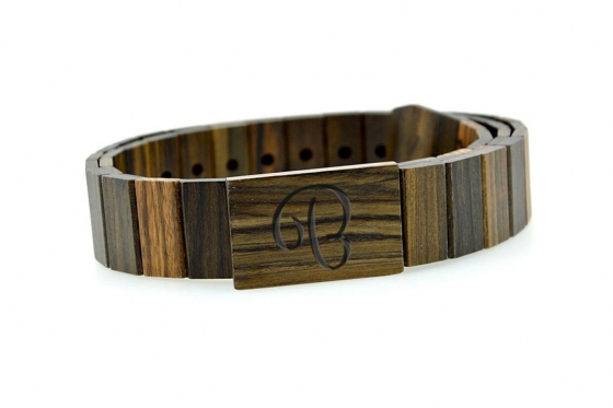 Bambuu Holzgürtel - Sandel