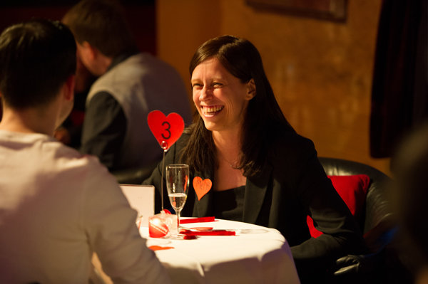 Wie lange dauert ein speed dating