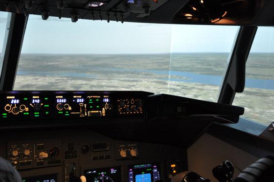 Flug Simulator Geschenk - im Cockpit einer Boeing 737 7 [article_picture_small]