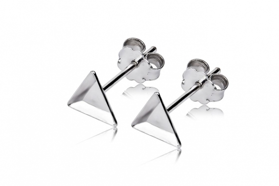 Boucles d'oreilles en argent - edition X