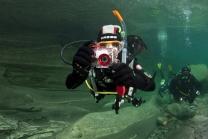 Cours de photo sous-marine - dans le lac Léman