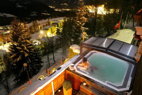 Wellness Aufenthalt für 2 - 2 Übernachtungen im Hotel Le Grand Chalet in Leysin  [article_picture_small]