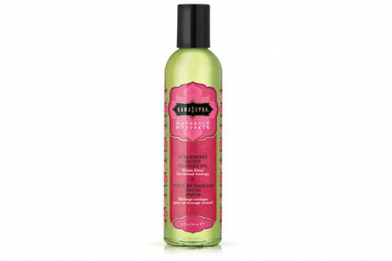 Huile de massage naturelle - Strawberry Divine
