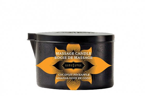 Massage Kerze	 - Coconut Pineapple