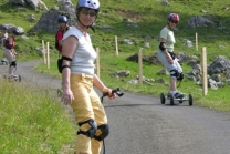 Mountainboard Ausflug - Berneck