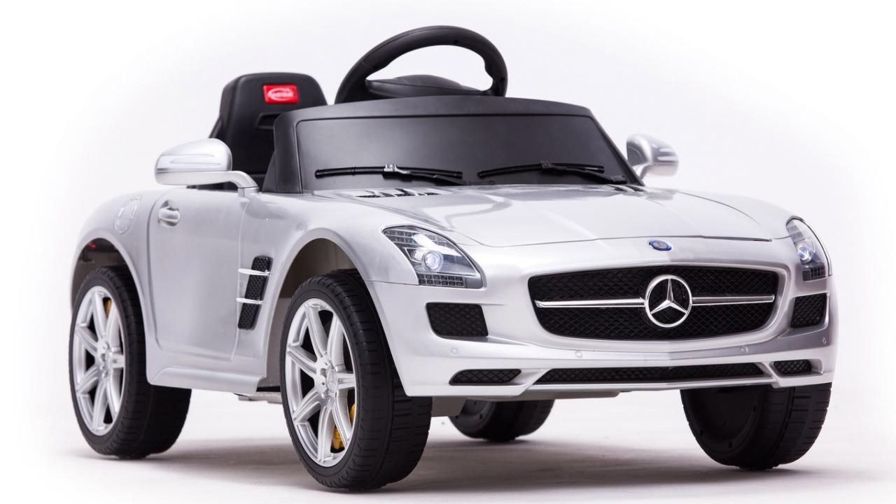 mercedes benz sls amg voiture lectrique cadeaux24. Black Bedroom Furniture Sets. Home Design Ideas