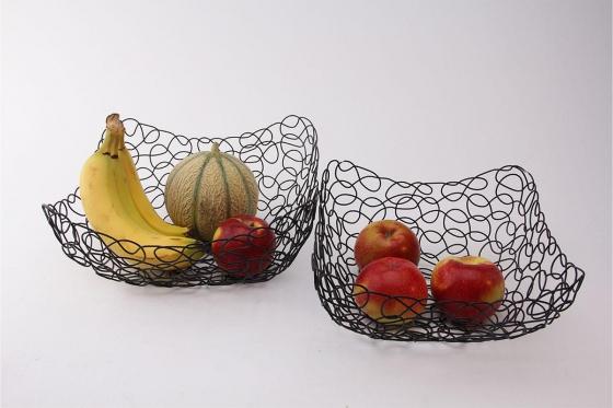 Früchtekorb Design - im 2er Set 2