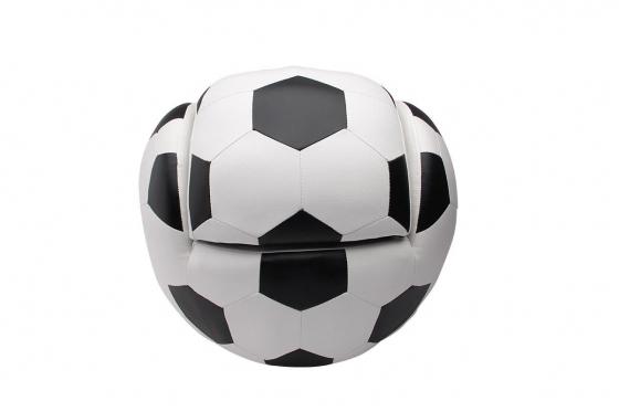 Fauteuil enfant - forme ballon de foot 2