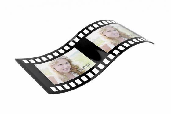 Filmrolle Bilderrahmen - Für 2 Fotos 1