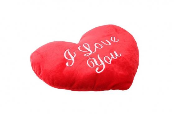 Herz-Kissen - I Love You, gross 1