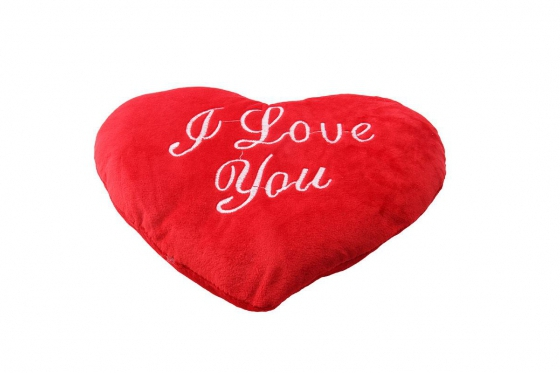 Coussin coeur - I Love You