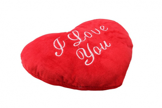 Coussin coeur - I Love You  1