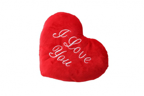 Coussin coeur - I Love You  2