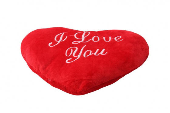 Coussin coeur - I Love You  3