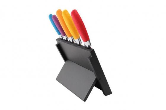Messerblock magnetisch - mit 5 Messern 2