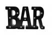 LED Schriftzug - BAR - schwarz 1 [article_picture_small]