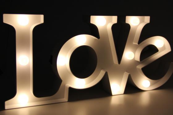 LED Schriftzug - Love 1