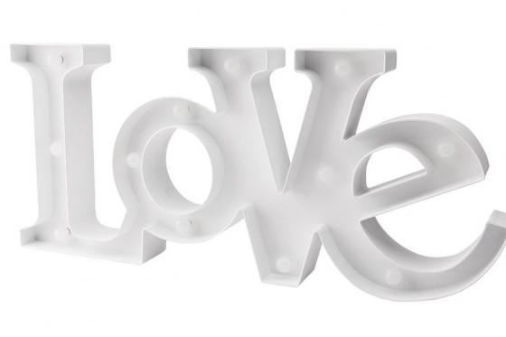 LED Schriftzug - Love 2