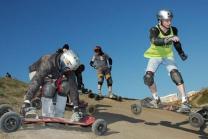 Mountainboard Ausflug - Flims