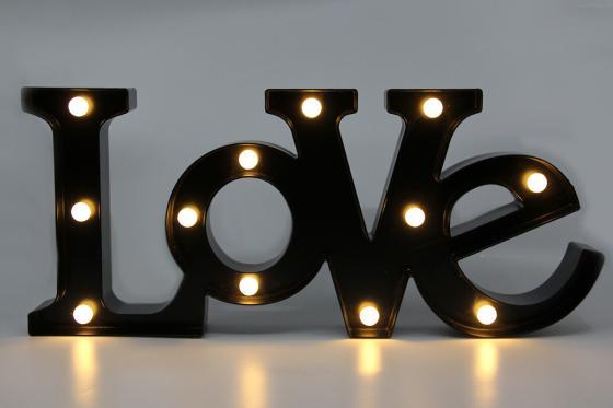 Lettrage LED - Love
