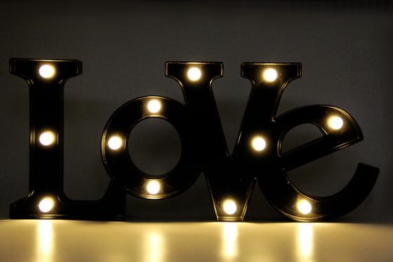 Lettrage LED - Love 2