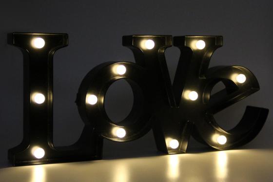 Lettrage LED - Love 3