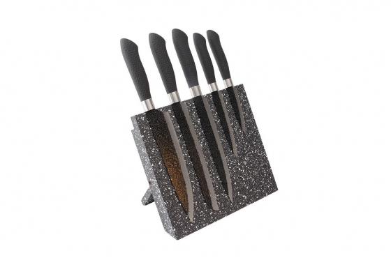 Messerblock magnetisch - mit 5 Messern