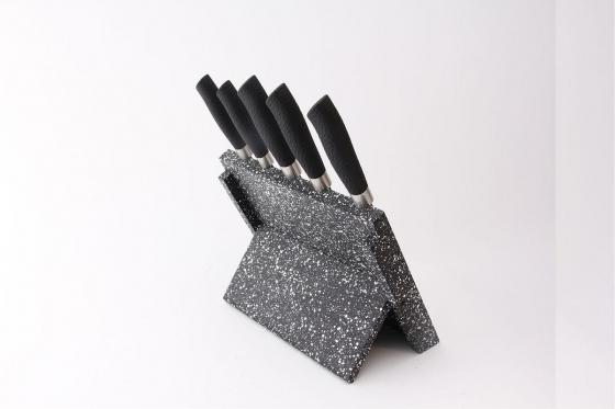 Messerblock magnetisch - mit 5 Messern  3