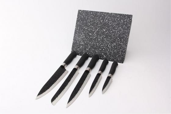 Messerblock magnetisch - mit 5 Messern  4