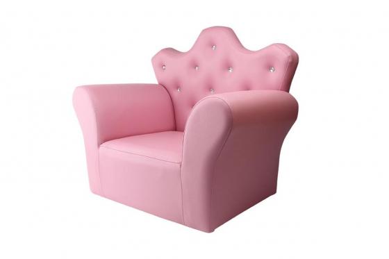 Prinzessinnen-Sessel - mit Hocker 2
