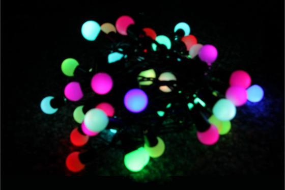 Lichterkette - 7farbig