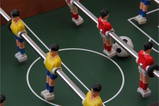 Tischfussball - für den Tisch 1