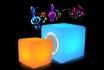 LED Bluetooth Lautsprecher - 40x40x40cm - Multicolor  [article_picture_small]
