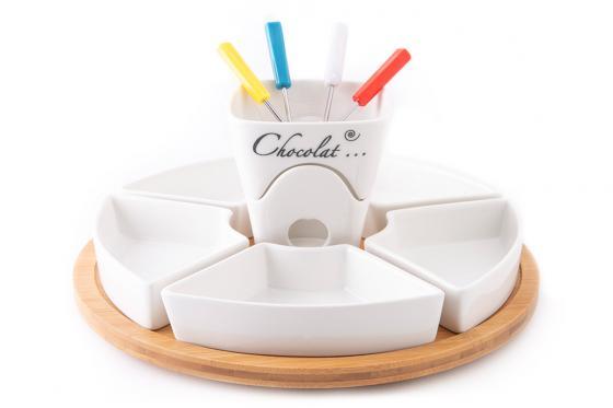 Schokoladen-Fondue - mit Teelichthalter 4