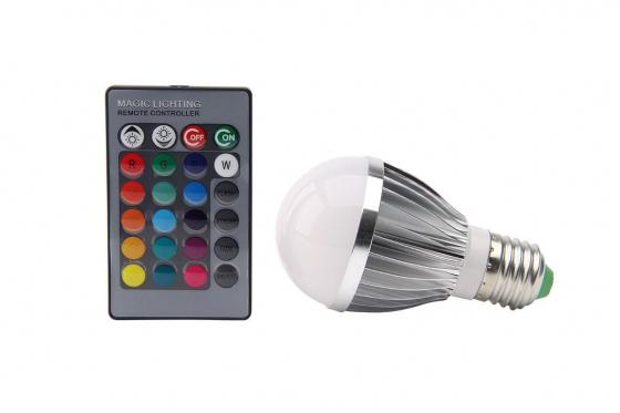 Ampoule avec commande à distance - Magic Colors