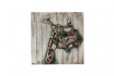 Holzbild Biker 3D - 92 x 92cm  [article_picture_small]