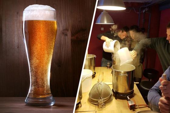 Cours de brassage - Inclus: bière à volonté, fondue et 4-5 litres de votre propre bière  [article_picture_small]