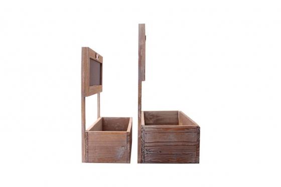 Pflanzenbeet - aus Holz 1