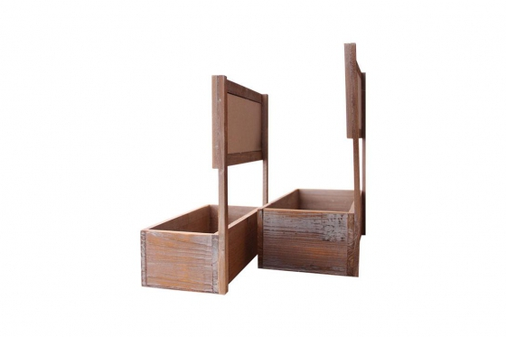 Pflanzenbeet - aus Holz 3