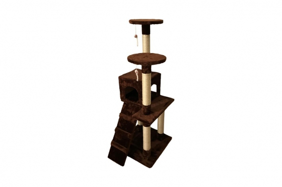 katzenbaum island 50x50x128 cm. Black Bedroom Furniture Sets. Home Design Ideas