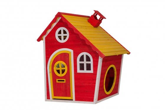 Holz Spielhaus Red Temple - von Happytoys
