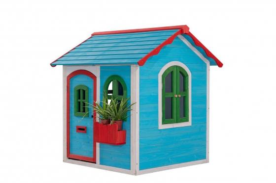 Holz Spielhaus Blue Lodge - von Happytoys