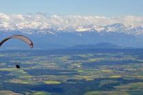 Tandem Gleitschirmflug - Gleitschirmfliegen im Jura