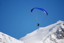 Gleitschirm Tandemflug - Gleitschirm fliegen in Zinal