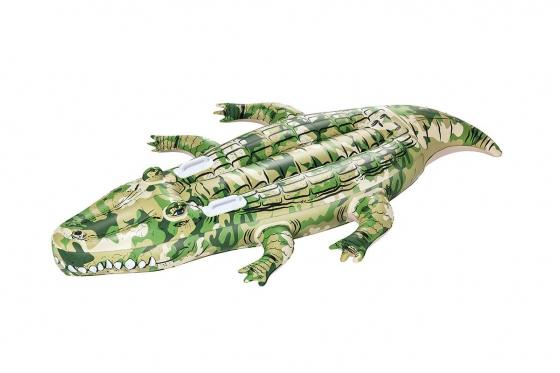 Schwimmtier - Camo Krokodil - von Bestway