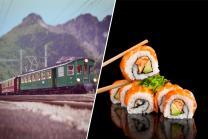 Sushi Zug - Sushi und Getränke für 2 Personen
