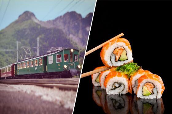 Train Sushi - Sushis et boissons pour deux personnes  [article_picture_small]