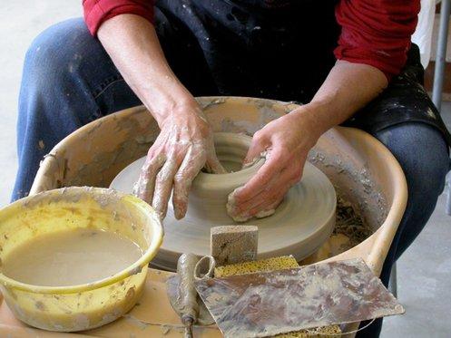 Faire de la poterie - dans un atelier de céramique 1 [article_picture_small]